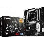 Placa de baza MSI Z170A Krait Gaming 3X Socket 1151