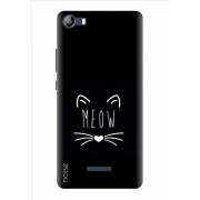 Noise Printed Back Cover Case for Micromax Canvas 5 E481 (GD-111)