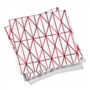 Vitra - Paper Napkins large, Grid pink