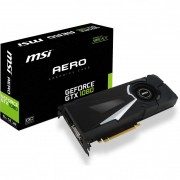 MSI GeForce GTX 1080 Aero OC 8192MB GDDR5X PCI-Express Graphics Card