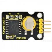 Modulo de reloj Keyestudio DS3231 para Arduino - amarillo + negro