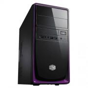 COOLER MASTER Cabinet PC Mini tower Elite 344 - noir, viola (RC-344-PKN2)