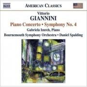 Giannini - Piano Concerto/ Sym. No.4 (0636943935224) (1 CD)