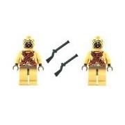 LEGO Star Wars (2) Tusken Raider Sand People with Black Musket Gun 7113