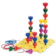 RESSOURCES D'APPRENTISSAGE LER0594 RAINBOW PEG activit- ludique SET-GR. PREK +