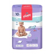 Bella Baby Happy Changing Mat 60 x 60 cm, 4 Pack (4 x 10 Items)