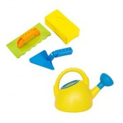 Hape Master Bricklayer and Watering Can Set Yellow
