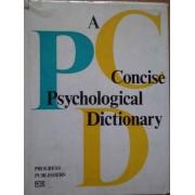 A Concise Psychological Dictionary - A.v. Petrovsky M.g. Yaroshevsky