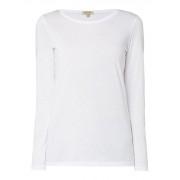 Jigsaw Longsleeve van Pima katoen met ronde hals