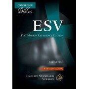 ESV Pitt Minion Reference Edition ES446:XR Black Goatskin Leather by Baker Publishing Group