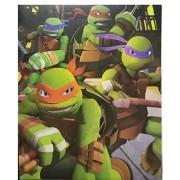 Teenage Mutant Ninja Turtles Back To School Starter Kit Supply Bundle Of 6 Items: Four Tmnt Wide Ruled Notebooks One Glossy Portfolio Folder & One 7 Piece Sketching Set