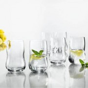 Holmegaard Future Glas, 25 cl, 6er Set, transparent