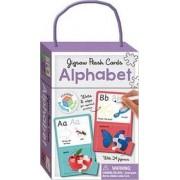 Alphabet Building Blocks - Jigsaw Flash Cards