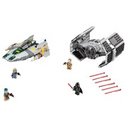 LEGO TIE Advanced al lui Vader contra A-Wing Starfighter (75150)