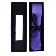 Set corbata estrecha en estuche