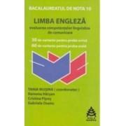Limba Engleza Bac De Nota 10 - Tania Musina
