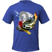 Tricou Abstract Street Racer