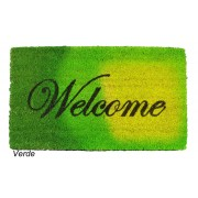 *Zerbino Welcome in cocco colori Sfumati cm 40X70
