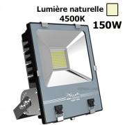 Projecteur Led Industriel 150W 4500K Noir