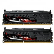 Memorie G.Skill Sniper 8GB (2x4GB) DDR3 PC3-12800 CL9 1.5V 1600MHz Dual Channel Kit, F3-12800CL9D-8GBSR