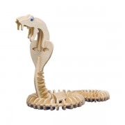 Puzzle eco 3D din lemn Kobra Pebaro