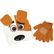 The Secret Life of Pets Max Youth Beanie & Gloves Set