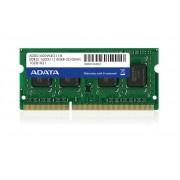 ADATA 4GB DDR3 1600 SODIMM LOW VOLTAGE SINGLE TRA