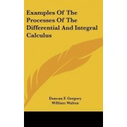 Examples of the Processes of the Differential and Integral Calculus by Duncan F Gregory