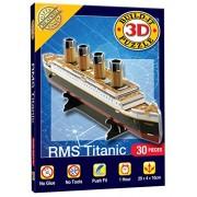 Cheatwell Games Titanic Build It 3D Mini Monumental Puzzle