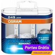 OSRAM XENARC D4S Cool Blue Intense ( 2 Lâmpada )