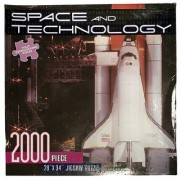 Space and Technology Space Shuttle 2000 Piece Jigsaw Puzzle
