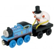 Thomas And Friends Wooden Railway - Thomas And the Snowman (japan import)
