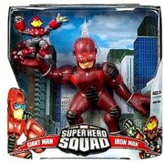 Marvel Super Hero Squad Giant Man and Iron Man Mega Size Pack Action Figure Set