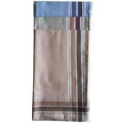 Asztalterítő 140x180 cm görögös jellegű mintával - bézs (204)