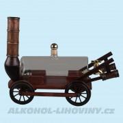 Dřevěný vozík s cisternou