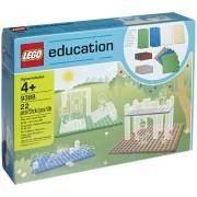 LEGO 9388 Education - Planchas pequeñas (22 piezas), varios colores