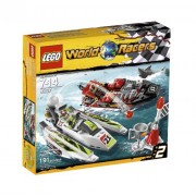 LEGO Racers Jagged Jaws Reef - juegos de construcción (Multicolor)