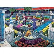 Bits and Pieces - 1000 Piece Murder Mystery Puzzle - Murder at the Museum by Artist Gene Dieckhoner - Solve the Mystery