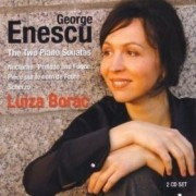 George Enescu - The two piano sonatas,Nocturne,Prelude and Fugue,Scherzo-Luiza Borac (SACD)