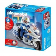 Playmobil Motorcycle Patrol