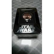 Star Wars prima Millennium Falcon bolsillo tipo del reloj de bronce solo articulo