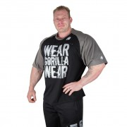 Gorilla Wear Colorado Oversized T-shirt Black/Grey - M