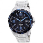 Casio Quartz Black Round Men Watch MTD-1065D-1AVDF(A499)