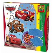 "SES Creative 14735 - Set di perline per comporre figure, serie ""Disney Cars"""
