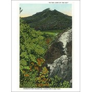 Blue Ridge Mountains, North Carolina Grandfather Mountain Scene (Playing Card Deck 52 Card Poker Size With Jokers)