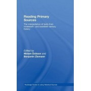 Reading Primary Sources by Miriam Dobson