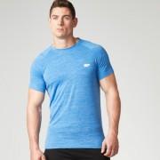 Myprotein Men's Performance Short Sleeve Top - Blue Marl - XXL