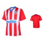 Atletico Madrid Voetbalshirt Thuis Eigen Naam Bedrukken 2015-2016