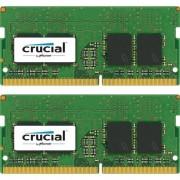 Memorie laptop Crucial 16GB DDR4 2400 MHz CL17 Dual Rank x8 Dual Channel Kit