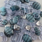 BEAD CONCEPTS™ ½lb Mix Czech Glass Beads in Assorted Sizes - for all your Jewelry making imaginations. - Al